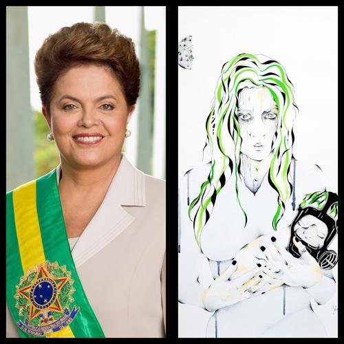 Mme Dilma ROUSSEFF - Présidente de la république fédérative du Brésil
