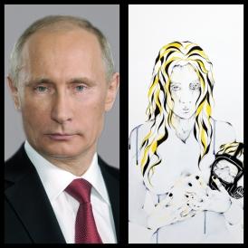 Mr Vladimir POUTINE - Président de la fédération de Russie