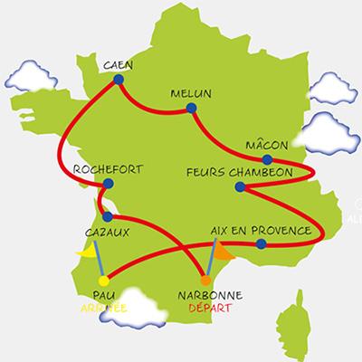 Tour 2015 de Rêves de Gosse